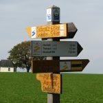 Wegweiser Goldsteig/Burgenweg 2